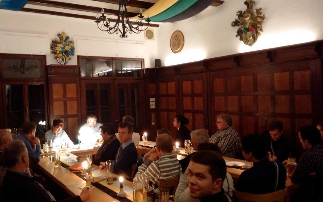 Stammtisch mit Johann Wolfgang von Goethe